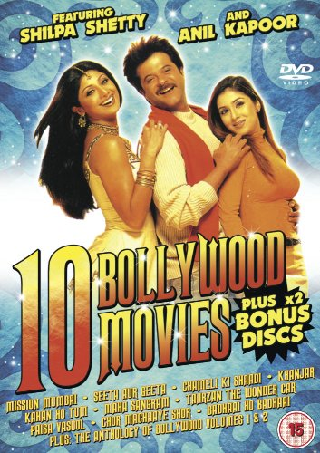 DVD cover: 10 Bollywood films featuring Shilpa Shetty and Anil Kapoor